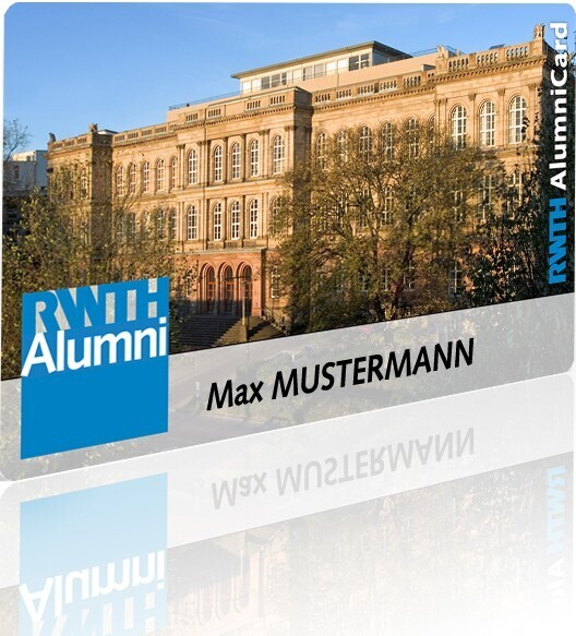 Alumni membership card