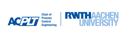 Logo of Chair of Process Control Engineering