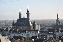 Overview of the city of Aachen